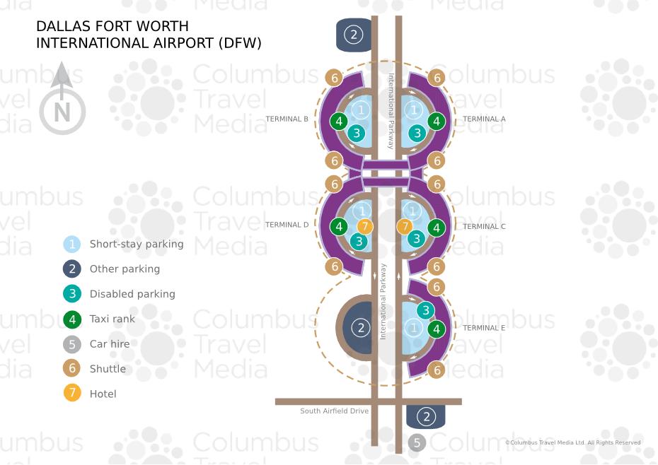 Dallas/Fort Worth International Airport (DFW) | Airports Worldwide ...