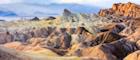 Zabriski Point in Death Valley