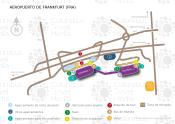 Aeropuerto de Francfort map