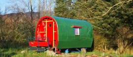 Fancy staying in a gypsy wagon?