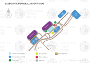 Geneva International Airport map