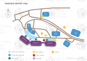 Hanover Airport map