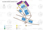 Helsinki-Vantaa Airport map