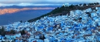 It may look blue, but our scribe finds green aplenty in Chefchaouen
