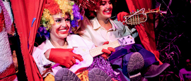 Joyful exuberance has become elrow's signature