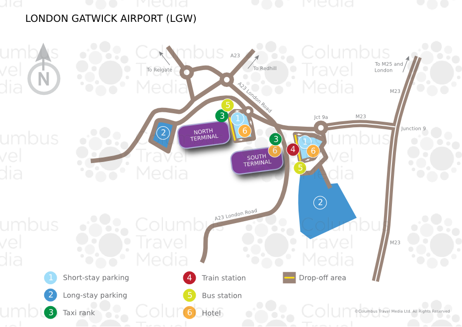 London gatwick airport lgw airports worldwide airports location london gatwick airport is located 45km 28 miles south of london m4hsunfo