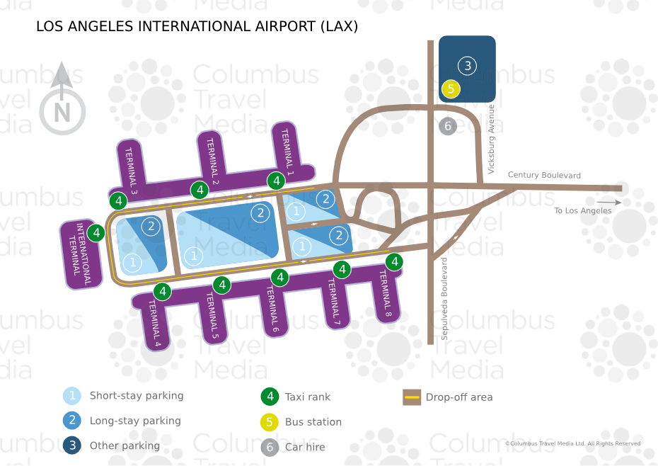 Los Angeles International Airport LAX Airports Worldwide Emirates