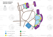 Adolfo Suárez Madrid-Barajas Airport map
