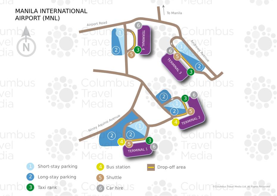 Ninoy Aquino International Airport MNL  Airports Worldwide