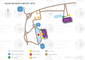 Milan Malpensa Airport map