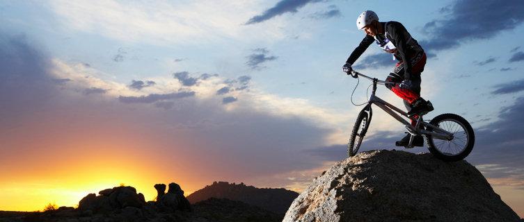 Mountain biking in the USA