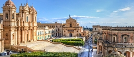 Noto is a charming Sicilian Baroque town.