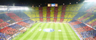 FC Barcelona's Nou Camp before a match