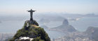 The famous Christ the Redeemer statue overlooks Rio