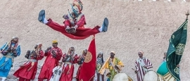 Scenes from the Gnaoua World Music Festival in Essaouira, Morocco