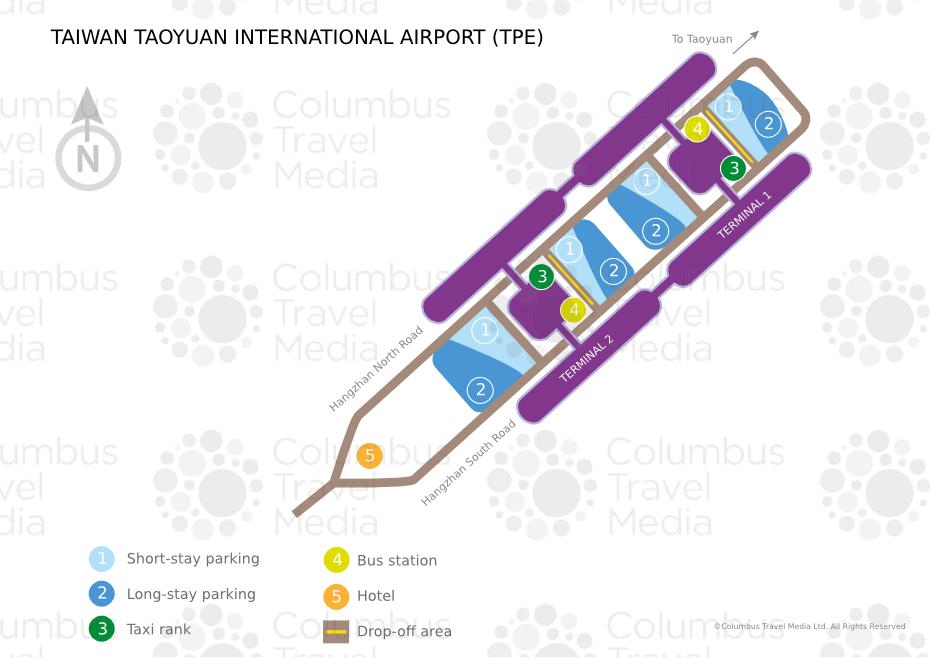 Taiwan Taoyuan International Airport TPE Airports Worldwide