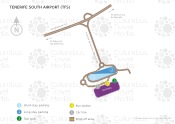 Tenerife Sur Airport map