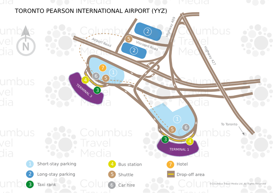 Pearson International Airport Yyz Airports Worldwide