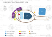 Vancouver International Airport map