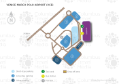Venice Marco Polo Airport map