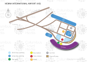Vienna International Airport map