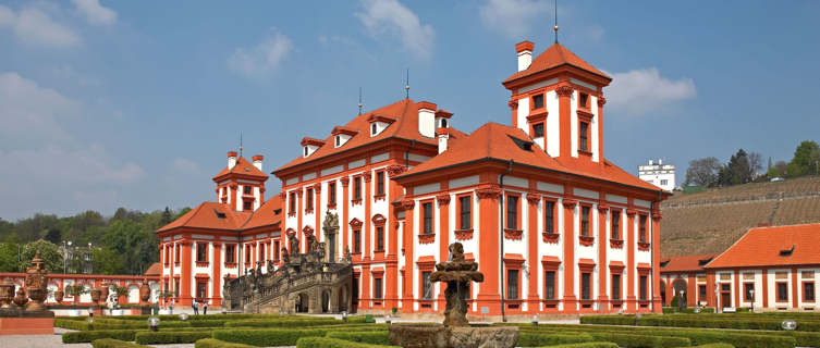 Chateau Troja manor house, Prague, Czech Republic