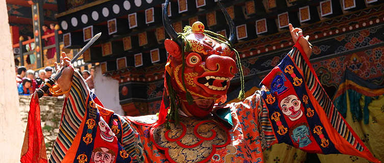 Dance of the Lord of Death, Paro, Bhutan