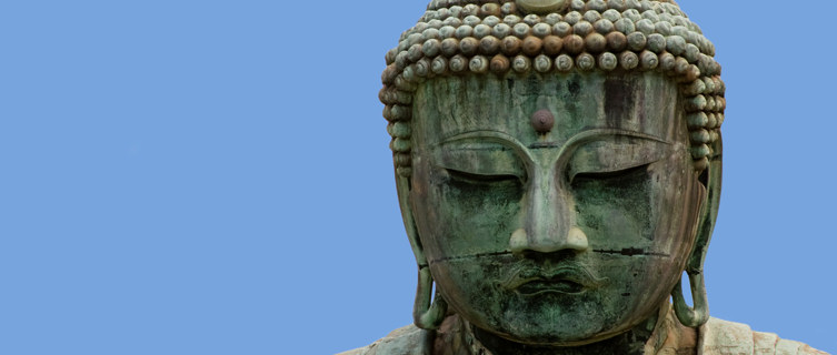 Giant Buddha Figure at Kamakura, Japan