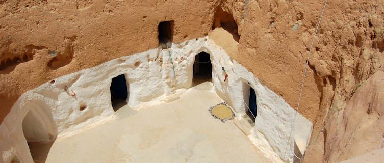 Matmata and the troglodyte dwellings, Tunis