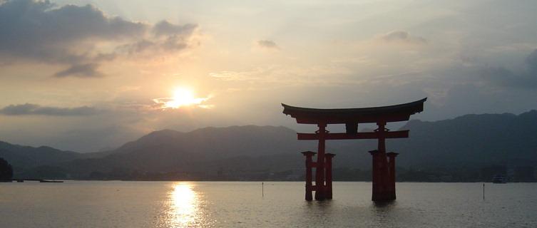 Miyajima torii gate, Japan