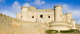 Belmonte Castle near La Mancha, Spain