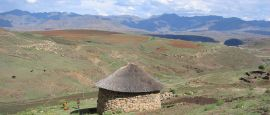 Lesotho mountain hut