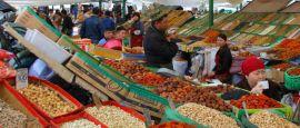 Osh Bazaar in Bishkek, Kyrgyzstan