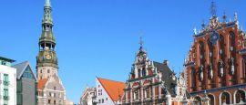 Riga skyline, Latvia
