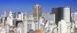 Sao Paulo skyline , Brazil