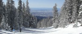 Ski area in Santa Fe