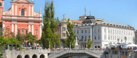 Slovenia capital Ljubljana