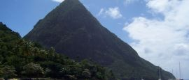 St Lucia's Piton Mountains