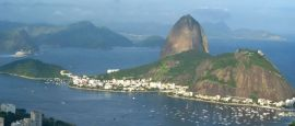 Sugarloaf mountain in Rio de Janeiro