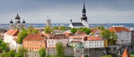 Toompea Hill, Tallinn, Estonia