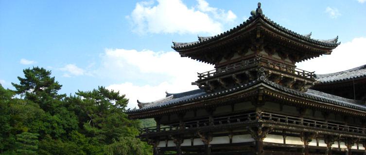 World Heritage Byodo-in temple, Kyoto, Japan