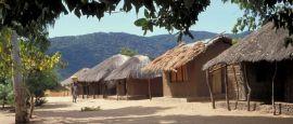 African village, Malawi
