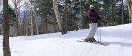 Tree skiing, Tremblant